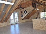 Completed Epoxy Floor Upstairs, June 22, 2010