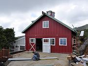 Barn Standing Seam Roofing Installation, March 26, 2010
