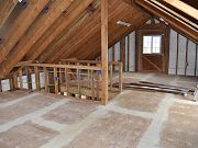 Barn Upstairs and Electrical Rough In, March 26, 2010