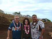 Hawaiian Blessing on April 3, 2008