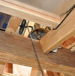Maui Barn Church Bell in Cupola