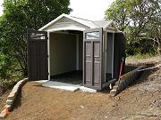 Completed Costco Plastic Shed