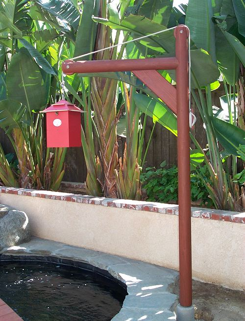 Eric 39 s backyard plans for Koi auto feeder