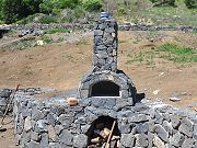 Completed Outdoor Pizza Oven, September 18, 2010