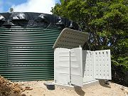 20,000 Gallon Water Tank With New Shed
