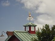 Brass and Copper Wind Vane On Cupola, June 2, 2010