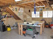 Downstairs Workshop in Barn, August 23, 2010