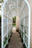 Side Arbor with Lath