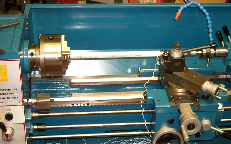 Making PVC Boifilter Ribbon with Newer Lathe
