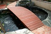 Completed Koi Pond Bridge