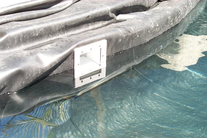Eric 39 s koi pond biofilter page for Koi pond skimmer installation